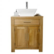 Oak Vanity Units With Basin Sink