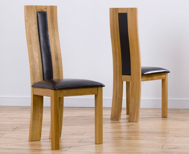 Modern Oak Dining Table Chairs Mobel, Modern Oak Dining Room Chairs