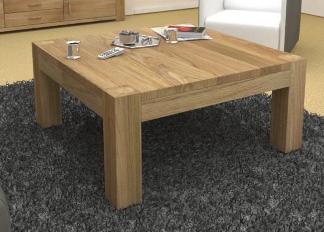 Square Solid Oak Coffee Table Atlas Modern Oak Mobel Oak